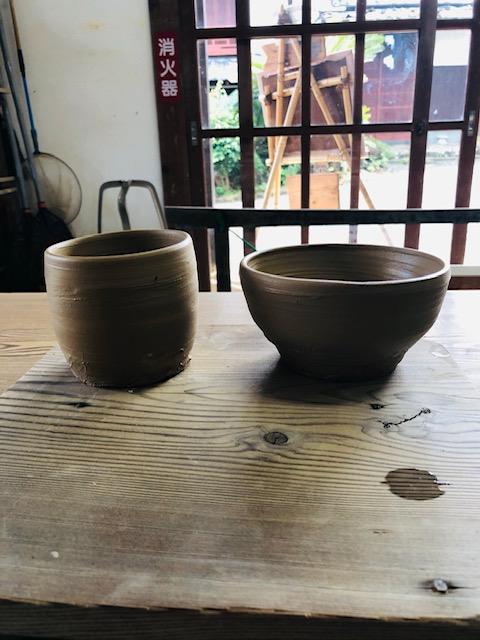 初めての陶芸